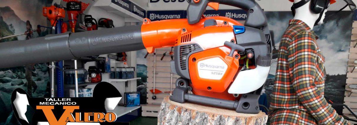 Soplador Husqvarna 525BX disponible en Taller Valero